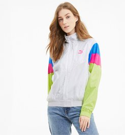 Tailored for Sport Women's Track Jacket in White, Size XS