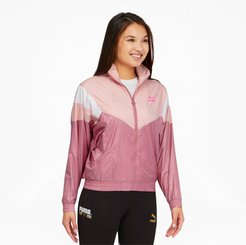 Tailored for Sport Women's Track Jacket in Foxglove, Size XL