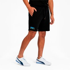 Tailored for Sport Men's Shorts in Black/Fizzy Yellow, Size M
