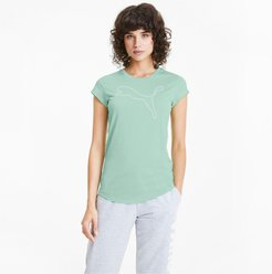 Active Women's Heather T-Shirt in Mist Green Heather, Size M