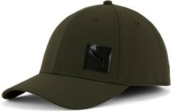 Decimal 2.0 Stretch Fit Cap in Dark Green, Size S/M