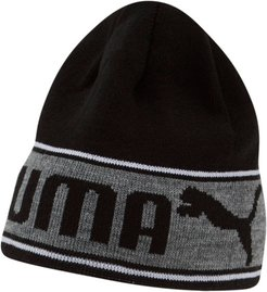Bryant Reversible Beanie Hat in Black/White