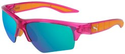 Wake Sports Sunglasses in Fuchsia/Fuchsialight/Blue