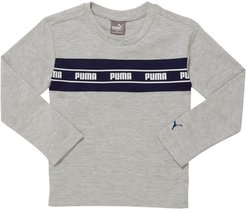 Amplified Pack Toddler Pieced Long Sleeve T-Shirt in LT HEATHER GREY, Size 3T