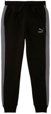 Luxe Pack Boys' Joggers JR in BLACK, Size M