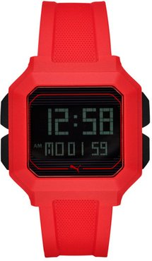Remix Red Digital Watch in Red/Red