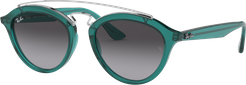 Gatsby II @collection Green, Gray Lenses - RB4257