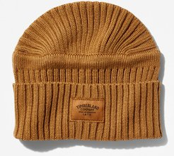 Gulf Beach Ribbed Beanie For Men In Yellow Yellow, Size ONE