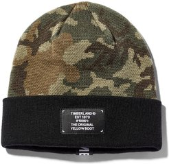 Mount Major Jacquard Beanie For Men In Camo Camo, Size ONE