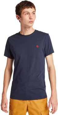 Dunstan River T-shirt For Men In Navy Navy, Size 3XL