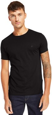 Cocheco River Supima® T-shirt For Men In Black Black, Size S