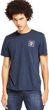 Kennebec River Graphic T-shirt For Men In Navy Navy, Size L