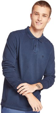 Millers River Polo Shirt For Men In Navy Navy, Size XL