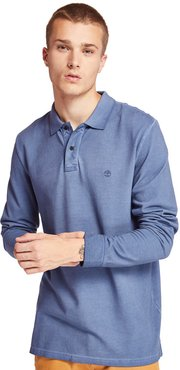 Millers River Polo Shirt For Men In Blue Blue, Size L