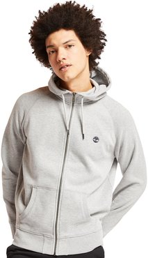 Exeter River Zip Up Top For Men In Grey Grey, Size S