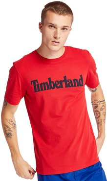 Kennebec River Timberland® T-shirt For Men In Red Red, Size XL