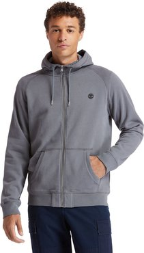 Exeter River Zip Hoodie For Men In Dark Grey Dark Grey, Size L