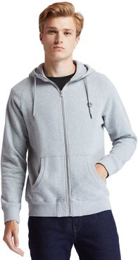 Exeter River Zip Hoodie For Men In Grey Grey, Size M