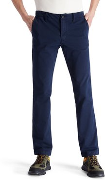 Sargent Lake Ultra Stretch Chinos For Men In Navy Navy, Size 31x32