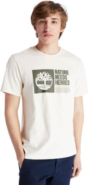 Nature Needs Heroes™ T-shirt For Men In Beige Beige, Size 3XL