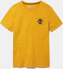 Kennebec River T-shirt For Men In Yellow Yellow, Size L
