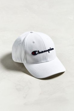 Champion Classic Twill Baseball Hat - White at Urban Outfitters
