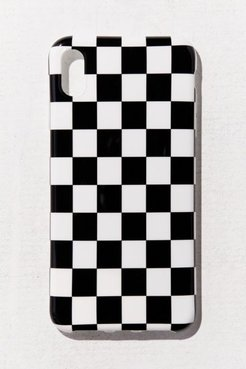 UO Exclusive Check Me Out iPhone Case - Blue at Urban Outfitters