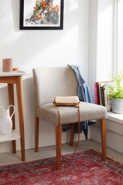 Lavinia Upholstered Chair - Grey at Urban Outfitters