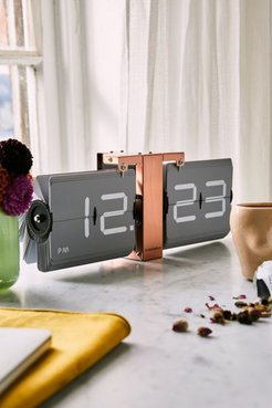 Flipping Out Copper Clock