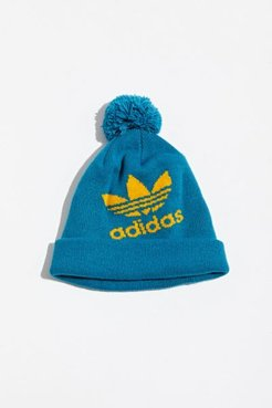 adidas Originals Pompom Beanie - Green at Urban Outfitters