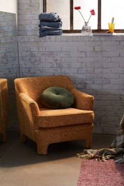 Marisol Floral Chair - Gold at Urban Outfitters