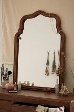 Virginia Leaning Mirror - Brown at Urban Outfitters
