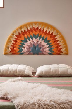 Cosette Patchwork Print Headboard - Assorted at Urban Outfitters