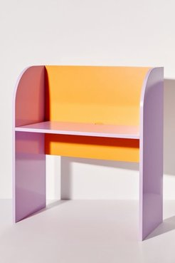 UO Exclusive Colorblock Desk - Assorted at Urban Outfitters