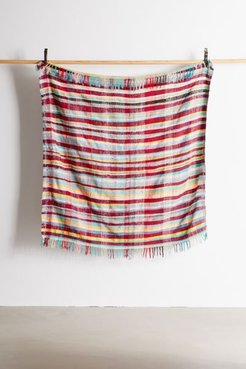 Urban Renewal One-Of-A-Kind Moroccan Woven Plaid Throw Blanket - Assorted at Urban Outfitters