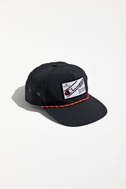 Champion Ripstop Snapback Hat - Black at Urban Outfitters