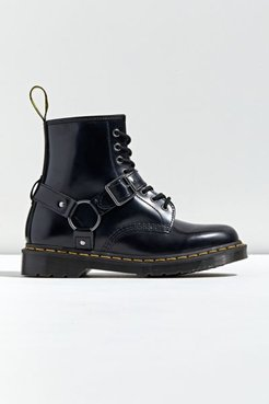 Dr. Martens 1460 Harness 8-Eye Boot - Black 8 at Urban Outfitters