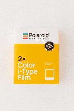 Polaroid Originals Color i-Type Instant Film - Twin Pack - White at Urban Outfitters