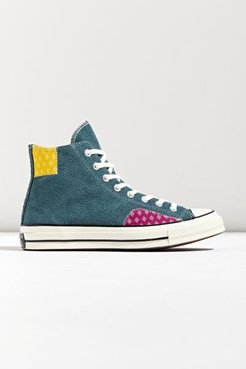 Chuck 70 Twisted Prep Pattern High Top Sneaker