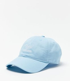 adidas Originals Outline Logo Relaxed Baseball Hat - Blue at Urban Outfitters