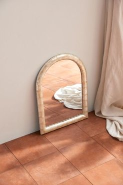 Capiz Arch Wall Mirror - Beige at Urban Outfitters