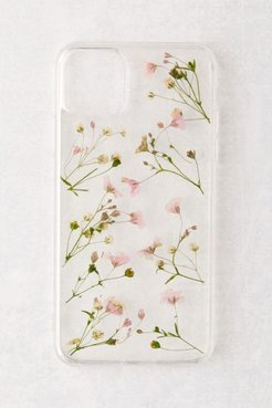 Ditsy Floral iPhone Case - Clear at Urban Outfitters