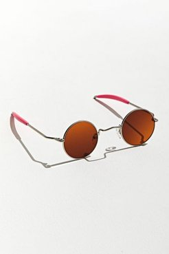 Chemistry Round Sunglasses - Brown at Urban Outfitters