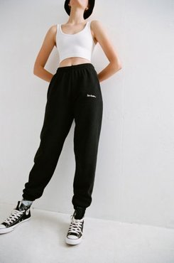 iets frans… Embroidered Jogger Pant