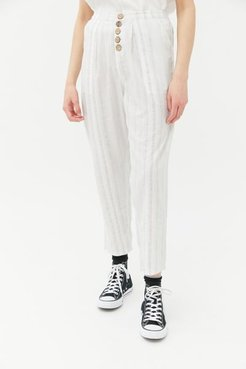 Lee Button-Front Lounge Pant