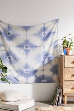 Dusk Tie-Dye Multi-Use Tapestry - Blue at Urban Outfitters