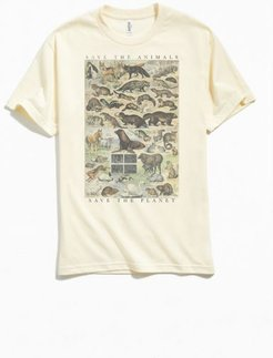 Save The Animals Save The Planet Tee