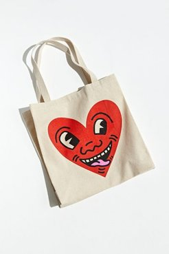 Keith Haring Big Heart Tote Bag
