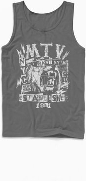 MTV I Want My Music Lion Tank Top