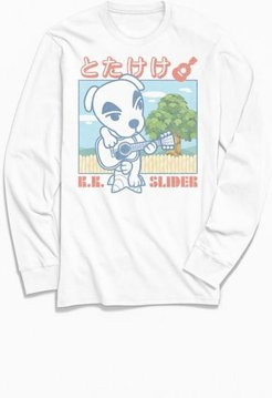 Animal Crossing K.K. Slider Long Sleeve Tee